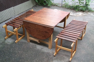 Two chair bench 001