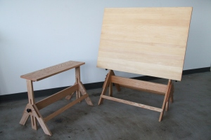 Drafting Table Bench 10