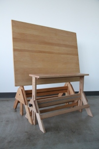 Drafting Table Bench 2