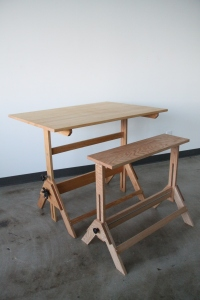 Drafting Table Bench 4
