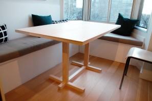 Table Double croix - Isometric